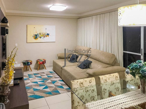 Excelente Apartamento Com Varanda Gourmet Espaçosa E Com 3 Quartos Sendo 1 Suíte À Venda, 89 M² Por R$ 690.000 - Parque Prado - Campinas/sp - Ap3446