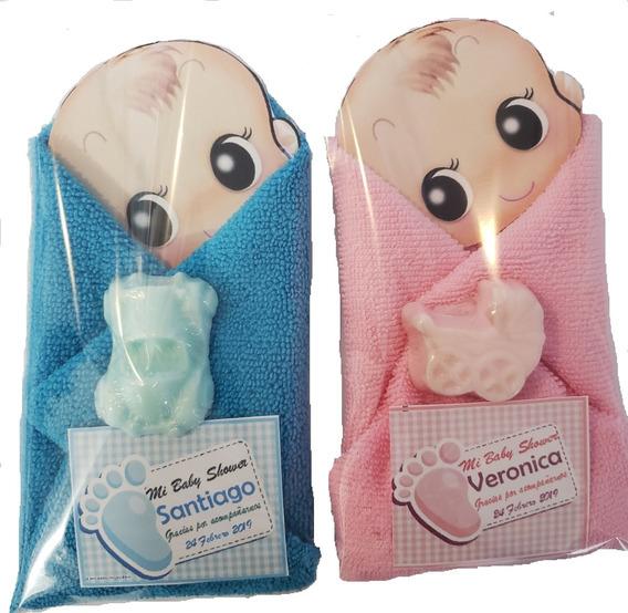 Recuerdos Baby Shower Toallas Con Jabon Con Aroma