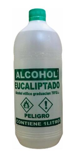 Alcohol 70 Eucaliptado Caja X 12 Unidades