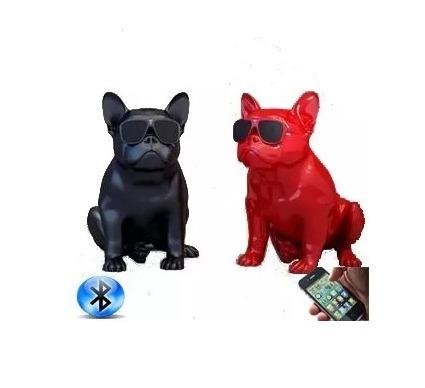 Caixa Som Amplificada Bluetooth Modelo Bulldog Cachorrinho