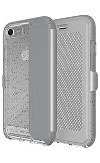 Evo Wallet Active Para iPhone 78 Gris Reflectante