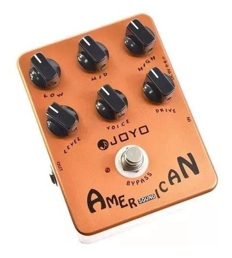 Pedal Guitarra Joyo American Sound Original + Frete Gratis