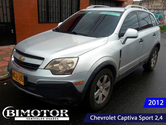 Chevrolet Captiva Sport 2,4l Full Equipo Con Techo