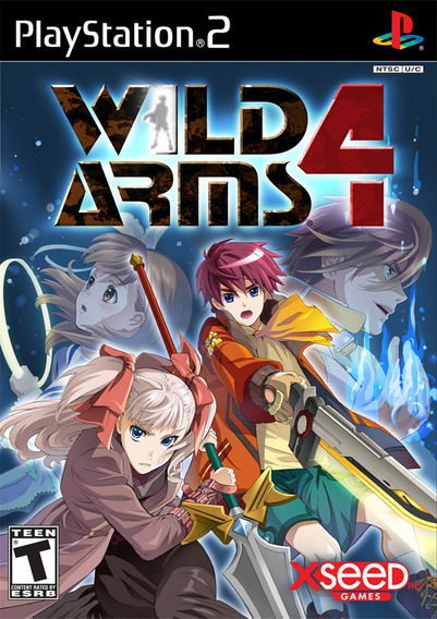 Wild Arms 4 - Playstation 2 (frete Único)