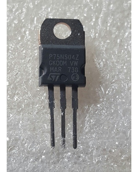 Stp75ns04z Mosfet N Clamped 80a 110w 0.007 Ohm To-220