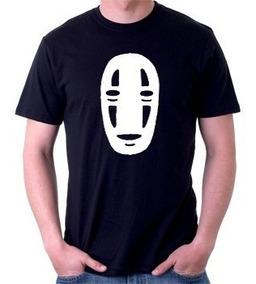 Camiseta Viagem De Chihiro Sem Rosto Animes 100% Algodão