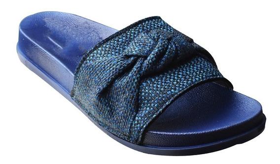 Sandalia De Dedo Chinelo Moleca Slide Feminino Laço