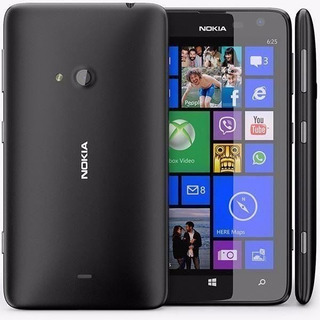 Nokia Lumia 625 Preto Com Windows Phone 8, Tela 4.7, Proces