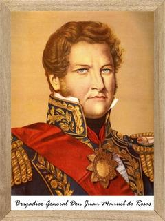 Juan Manuel De Rosas Cuadros Poster Carteles M047
