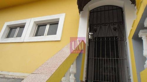 Sobrado Com 3 Dormitórios Para Alugar, 150 M² Por R$ 2.250/mês - Jardim Do Mar - São Bernardo Do Campo/sp - So0718
