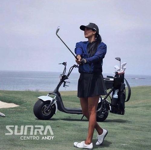 Citycoco Spy Racing Golf 18 Hoyos / 2 Baterias + Soporte /a