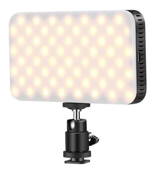 Flash Led Iluminador Câmera Filmadora Ordro Canon Nikon Sony