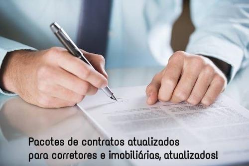 Pacote Com 47 Contratos Para Corretores E Imobiliárias!