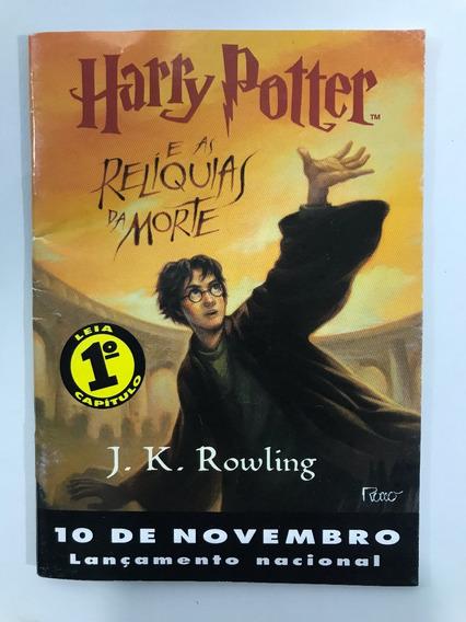 Livro Harry Potter E As Reliquias Morte 1ª Leitura Capitulo1