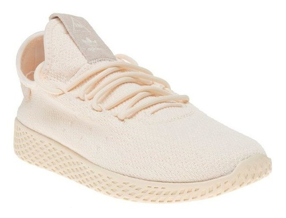 Tenis adidas Pw Tennis Hu W Pharrell Williams Crema
