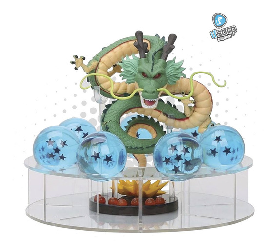 Figura Dragon Shenlong Base Y Esferas Dragon Ball Z