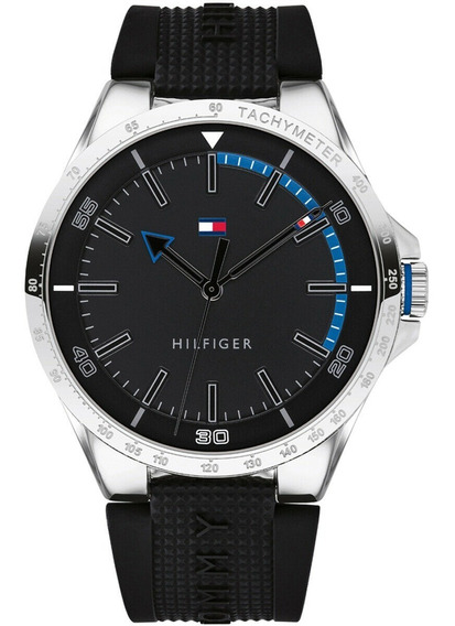 Relogio Tommy Hilfiger 1791528 Silicone (mont,invic,oakl,cas