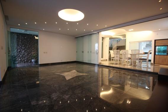 Casa Com 4 Quartos Para Alugar No Sion Em Belo Horizonte/mg - 18762