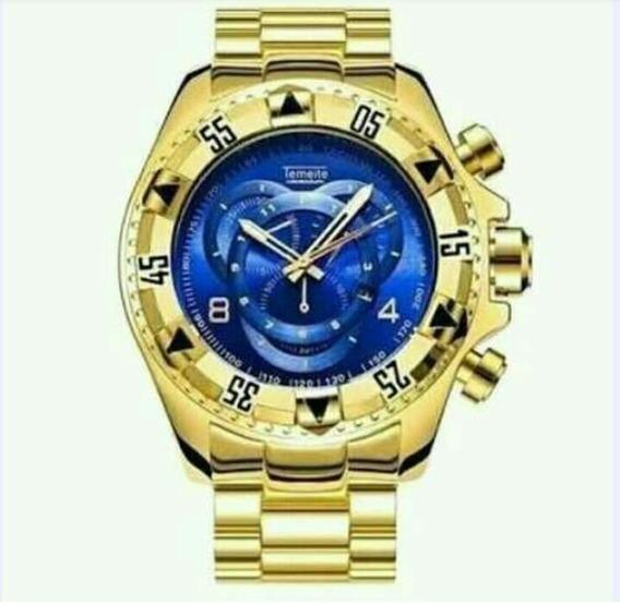 Relógio Temeite De Luxo 100% Original Envio Imediato