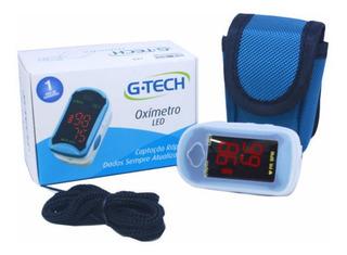 Oximetro De Pulso Portatil De Dedo Led G Tech