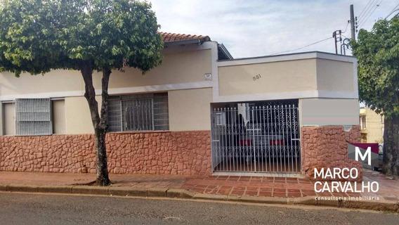 Casa Residencial À Venda, Centro, Marília. - Ca0038