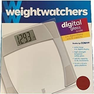 Weight Watchers Digital Glass Scale (2.0 Inch Display)