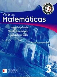 Vive Las Matematicas 3 2ed. -s.piada/competencias-