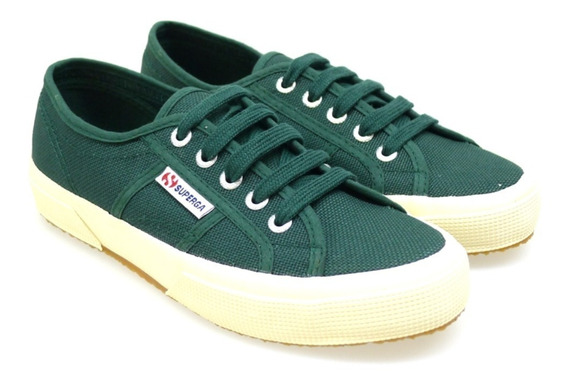 Exclusivos Tenis Superga Green Pine 9mx 11us Canvas