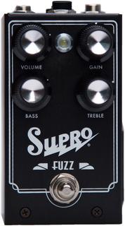 Supro 1304 Fuzz Pedal De Fuzz Para Guitarra Eléctrica