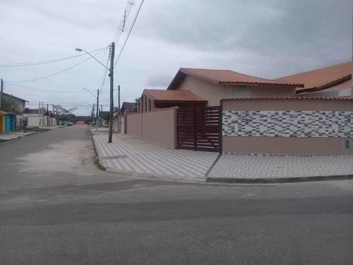 Imagem 1 de 13 de Excelente Oportunidade Casa Nova A Venda Em Mongaguá Ref-732