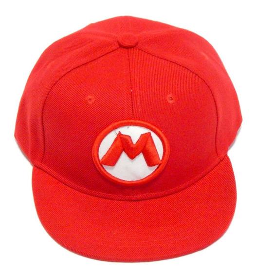 Super Mario Bros Gorra Bordada 3d Odyssey Broche Snapback