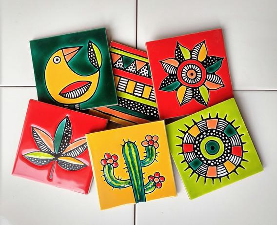 Azulejos Decorados 10x10 Relieve Linea Tijuana. Fabricante