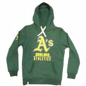 Canguru Moletom New Era Oakland As Athletics Blusão Capuz