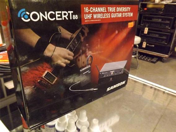 Sistema Inalambrico Profesional Para Guitarra Samson Concert