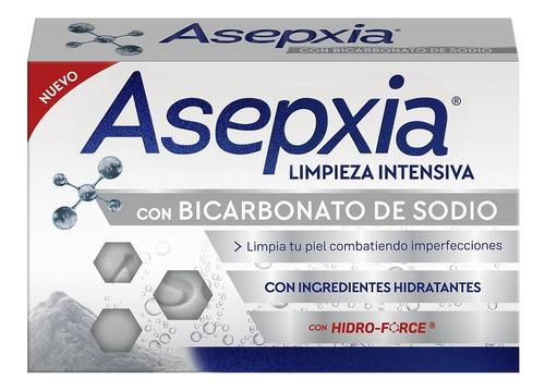 Asepxia Jabon En Barra Bicarbonato De Sodio X 100 Gr