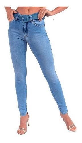 Imagem 1 de 7 de Calça Jeans Cigarrete Feminina Revanche Renee