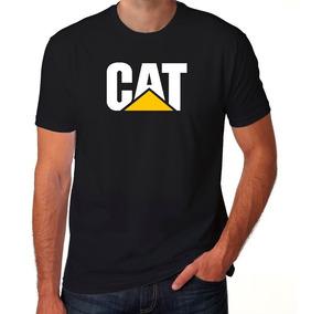 Camiseta Caterpillar Cat 100% Algodão
