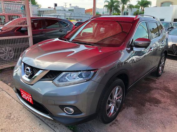 Nissan X-trail 2.5l Exclusive 2 Filas 2017 Credito Recibo Fi