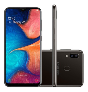 Smartphone Samsung Galaxy A20 32gb 6.4 13mp + 5mp 8mp Pt