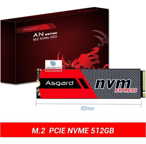 Ssd M.2 M2 Nvme Asgard 500gb Pc Notebook