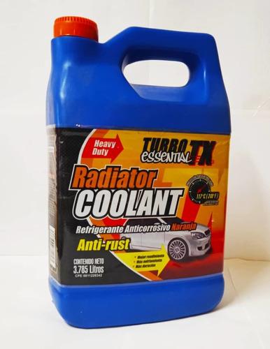 Refrigerante Anticorrosivo Naranja. Turbo Tx Essential.