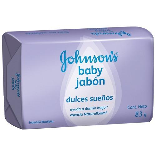 Jabon En Barra Dulces Sueños Johnsons Baby 83g X 96 Jabones