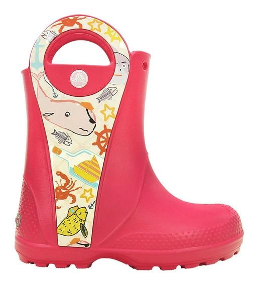 Bota Corta Para Lluvia Crocs Handle It Sea Life Boot K Life