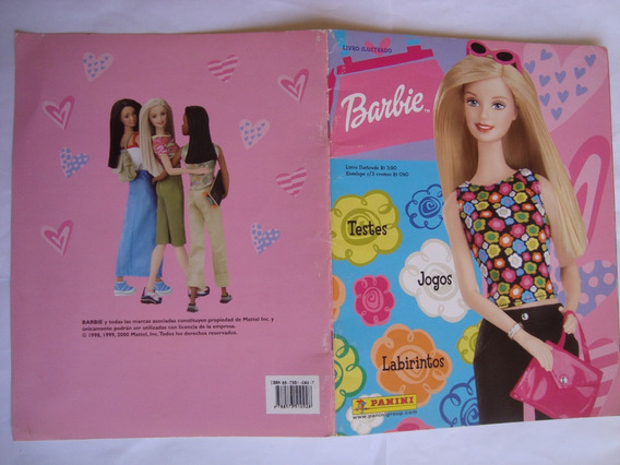 Álbum Barbie Editora Panini Ano De 2002 Completo Ótimo