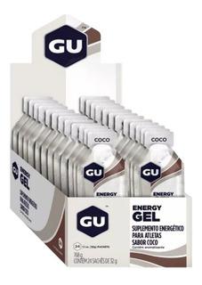 Gu Energy Gel - 24 Sachês - Gu