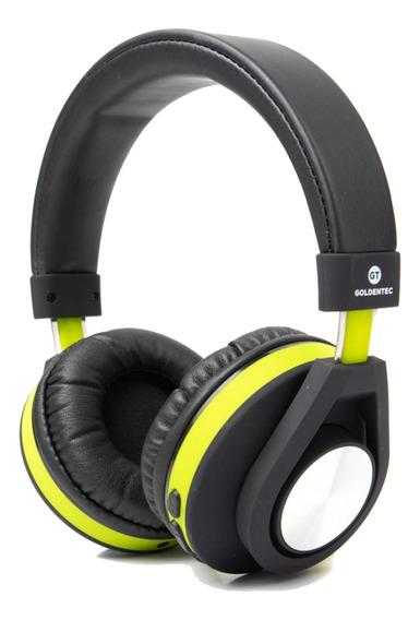 Fone De Ouvido Bluetooth Verde Super Controle De Músicas