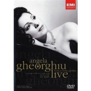 Dvd Original Angela Gheorghiu From Convent Garden Live