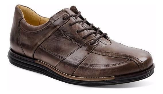 Sapato Masculino Em Couro Sandro Moscoloni Looper