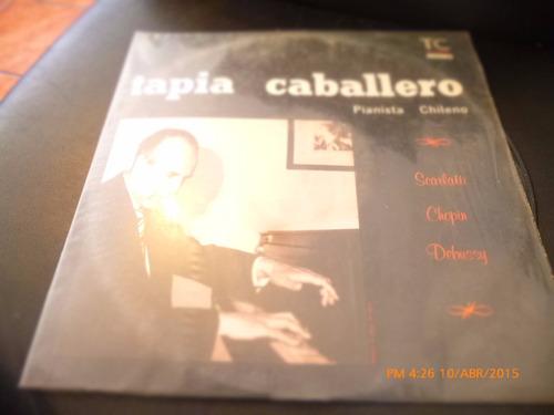 Vinilo Lp  De Tapia Caballero  - Pianista Chileno (u1045