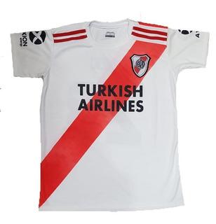 Camiseta River Plate Futbol Adultos Talles S Al Xxl